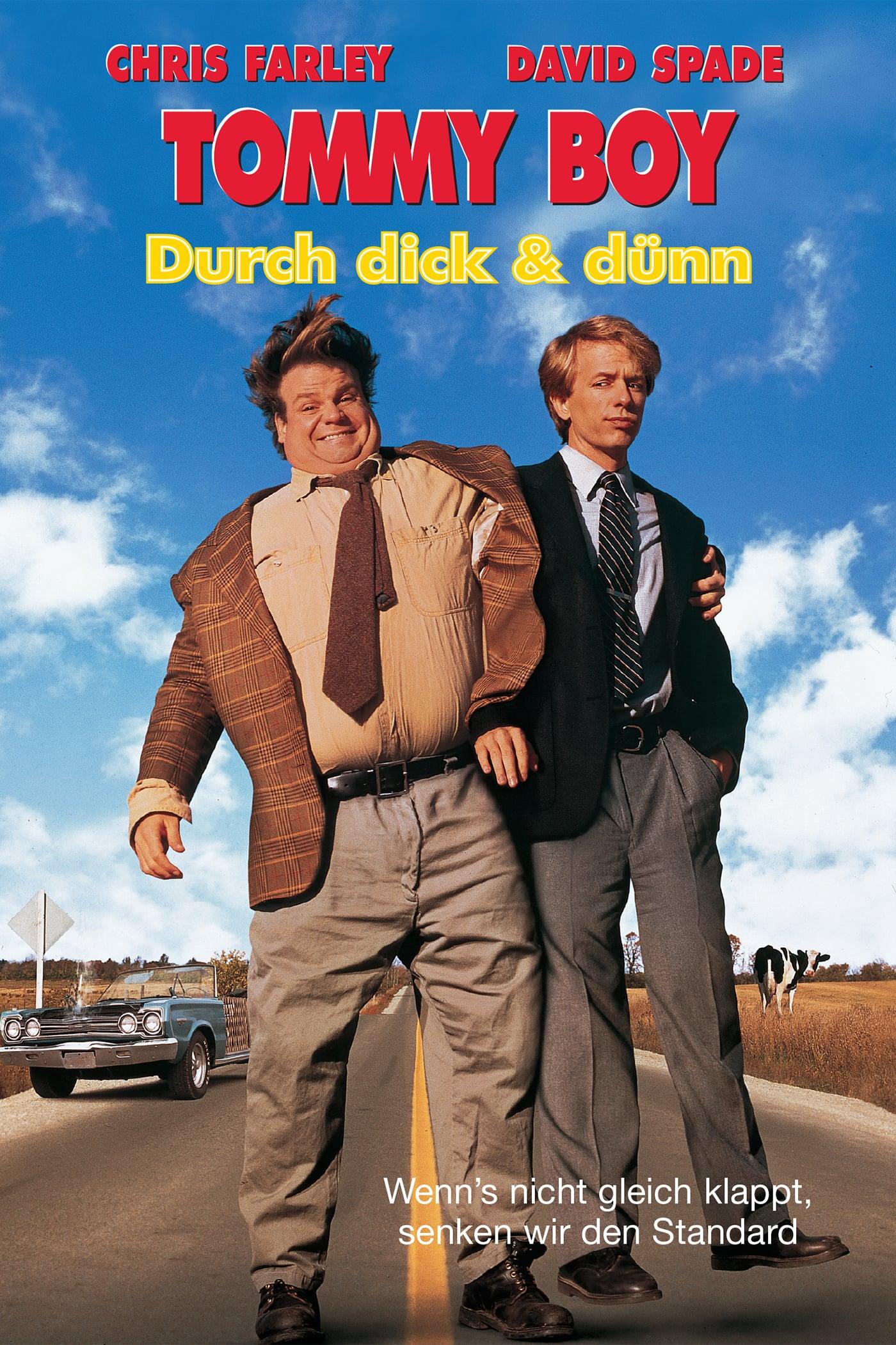 """Plakat von """"Tommy Boy - Durch dick und dünn"""""""