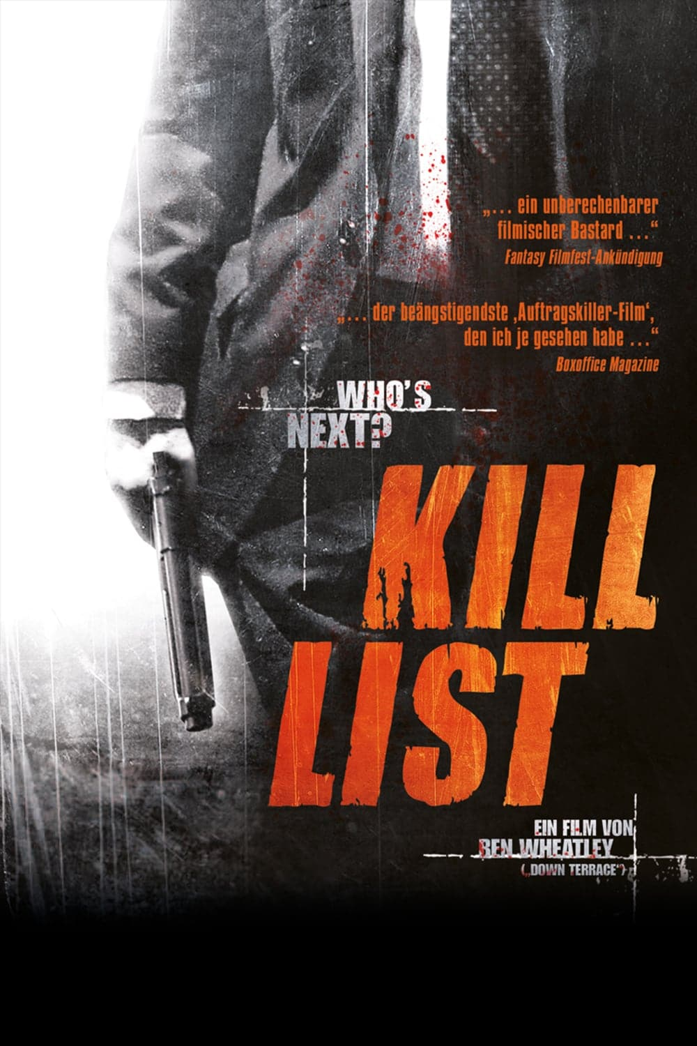 "Plakat von ""Kill List"""