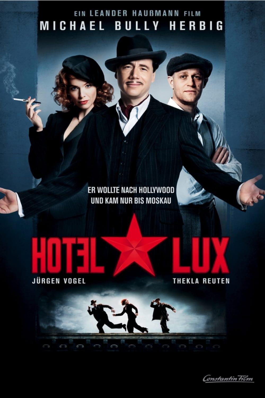 """Plakat von """"Hotel Lux"""""""