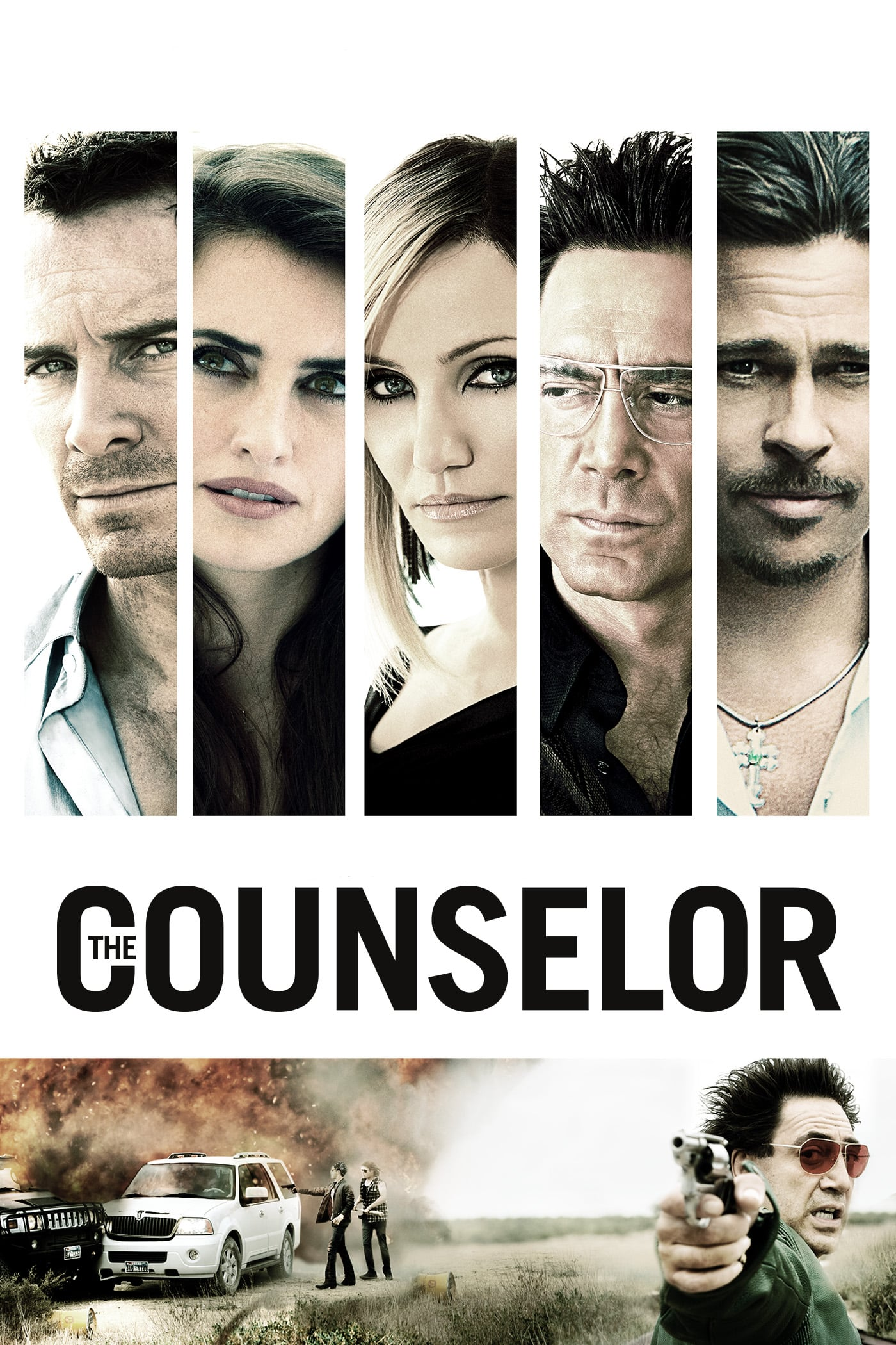 "Plakat von ""The Counselor"""