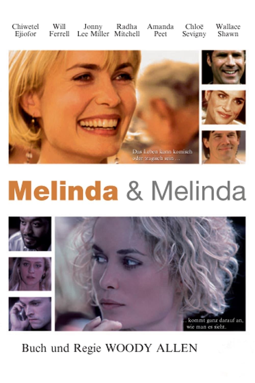 """Plakat von """"Melinda und Melinda"""""""
