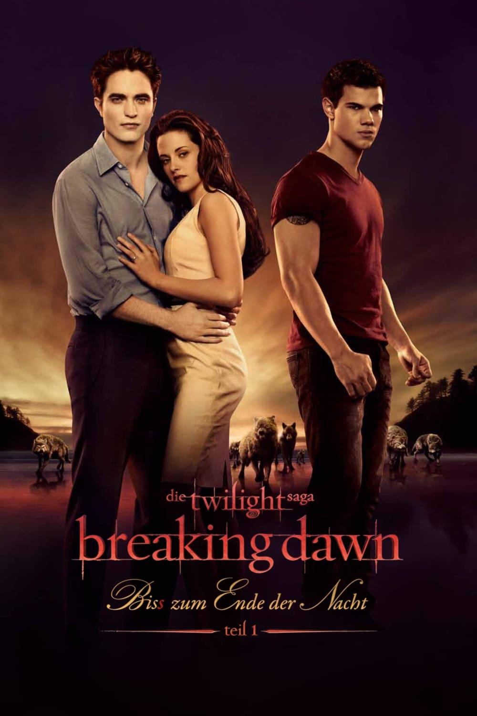 """Plakat von """"Breaking Dawn - Bis(s) zum Ende der Nacht - Teil 1"""""""