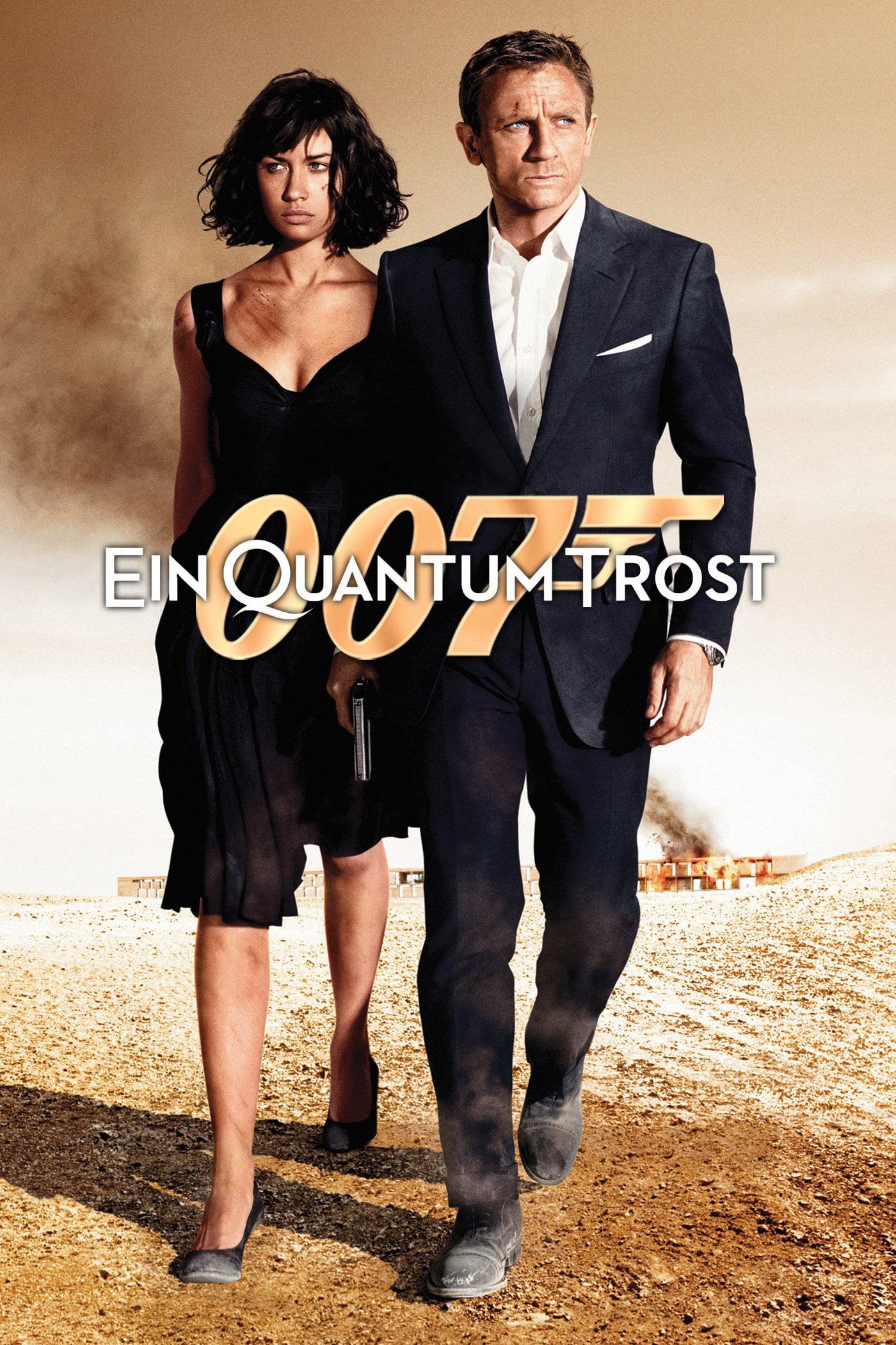 """Plakat von """"James Bond 007 - Ein Quantum Trost"""""""
