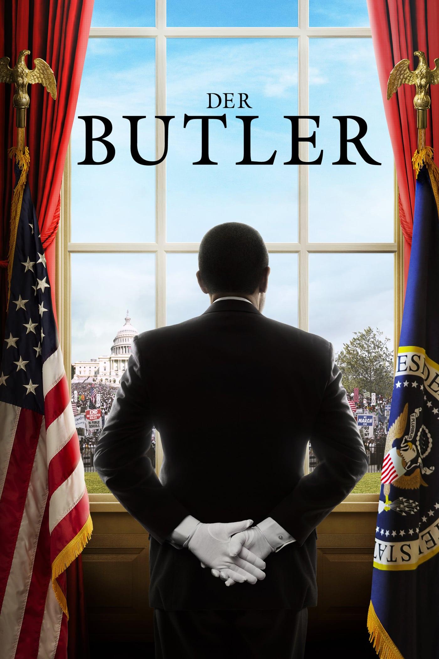 """Plakat von """"Der Butler"""""""