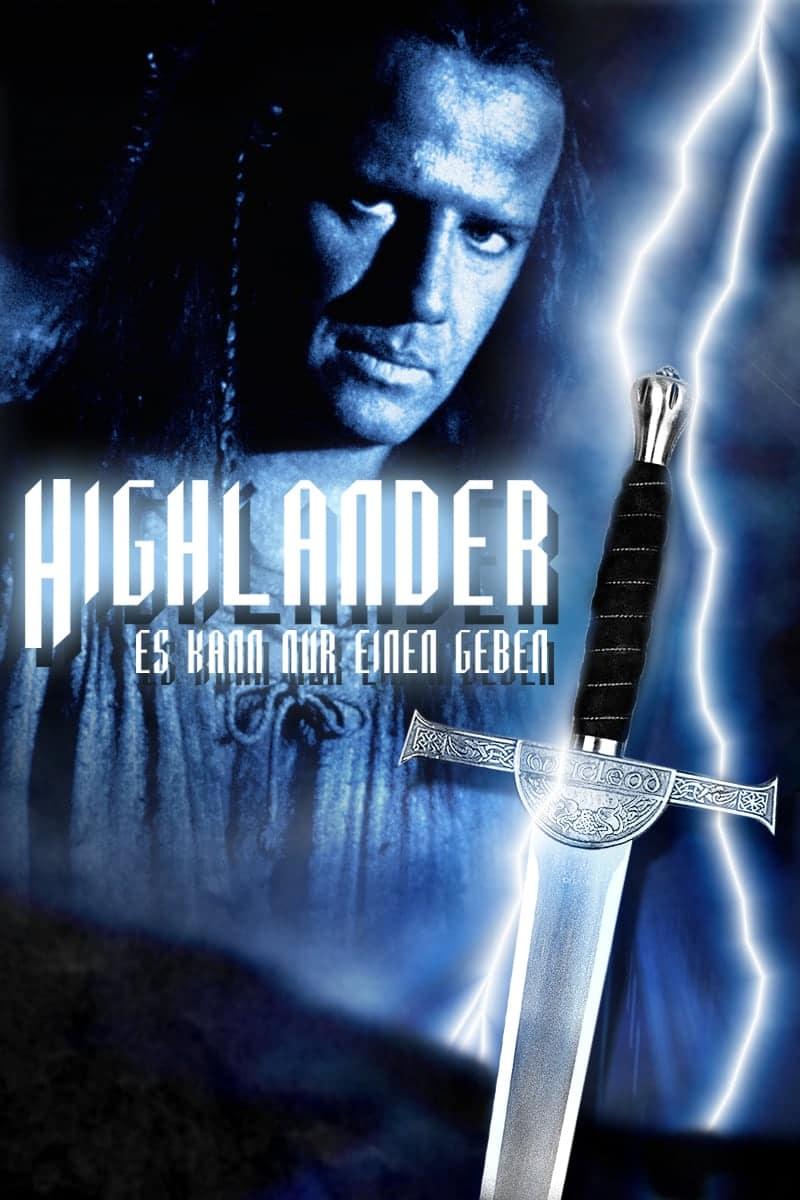 """Plakat von """"Highlander"""""""
