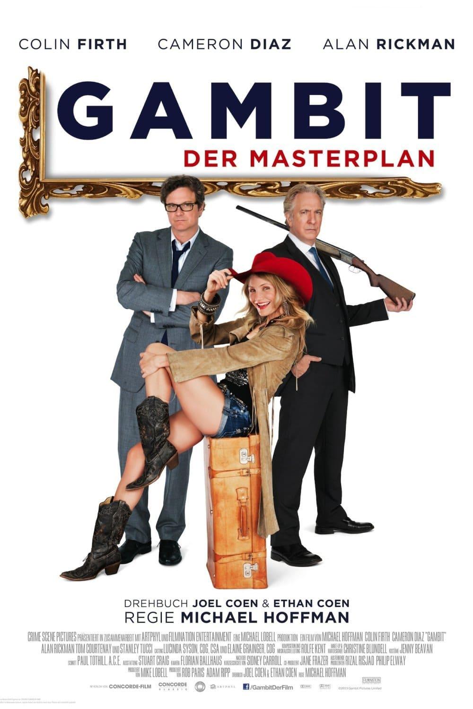 """Plakat von """"Gambit - Der Masterplan"""""""