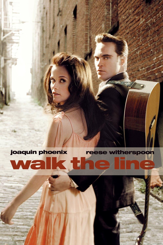 """Plakat von """"Walk the Line"""""""