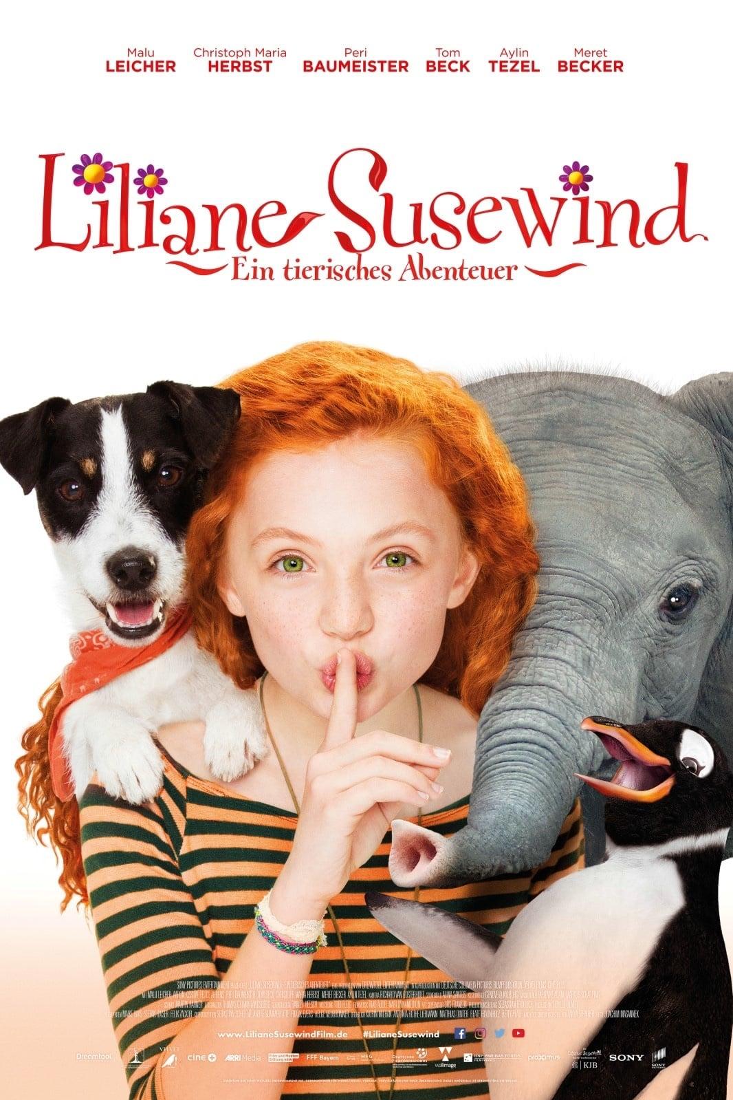 """Plakat von """"Liliane Susewind - Ein tierisches Abenteuer"""""""