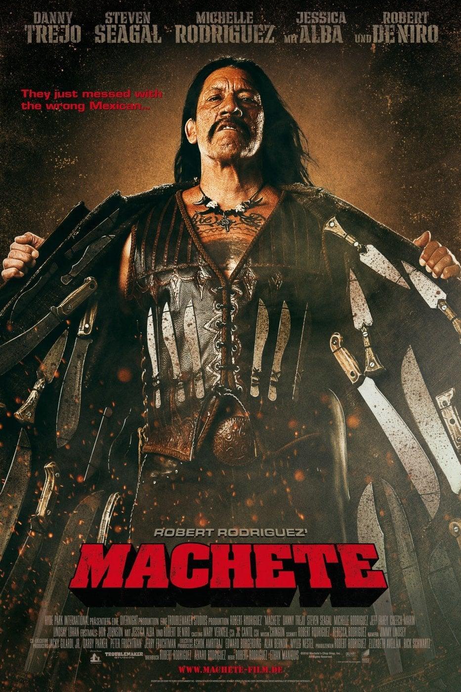 """Plakat von """"Machete"""""""