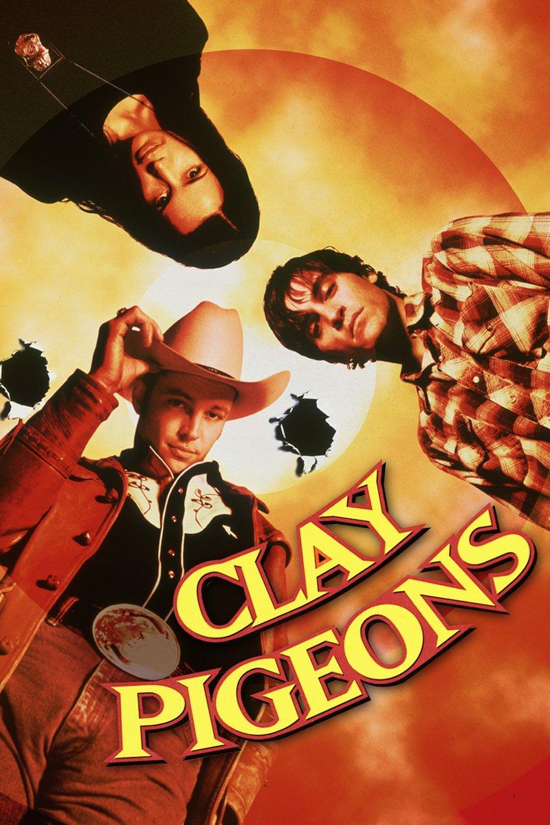"""Plakat von """"Clay Pigeons – Lebende Ziele"""""""