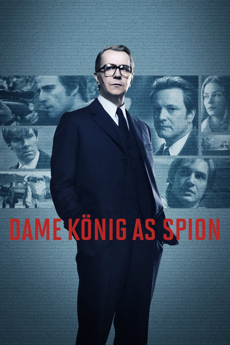 """Plakat von """"Dame, König, As, Spion"""""""