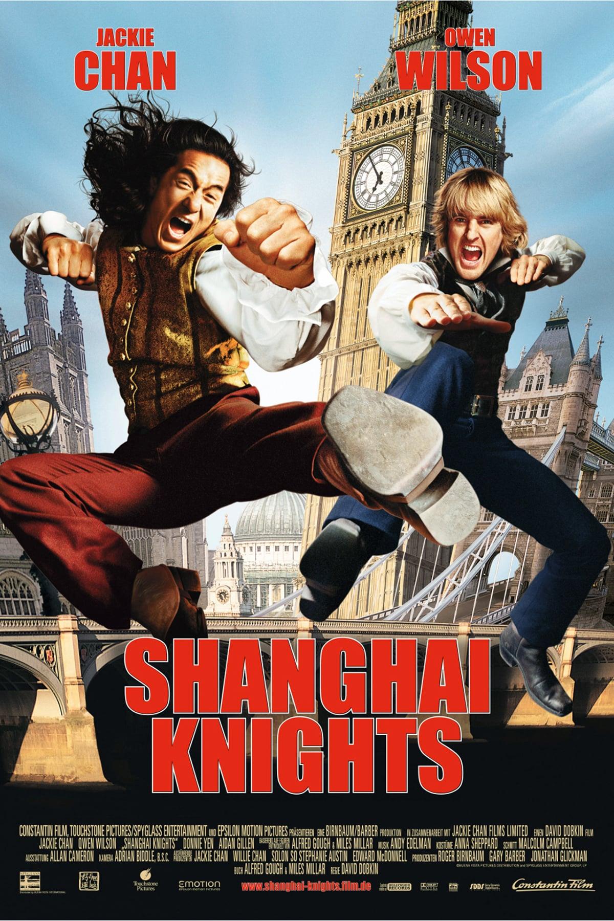 """Plakat von """"Shanghai Knights"""""""