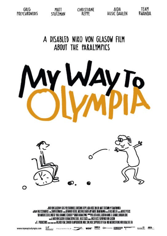 "Plakat von ""My way to Olympia"""