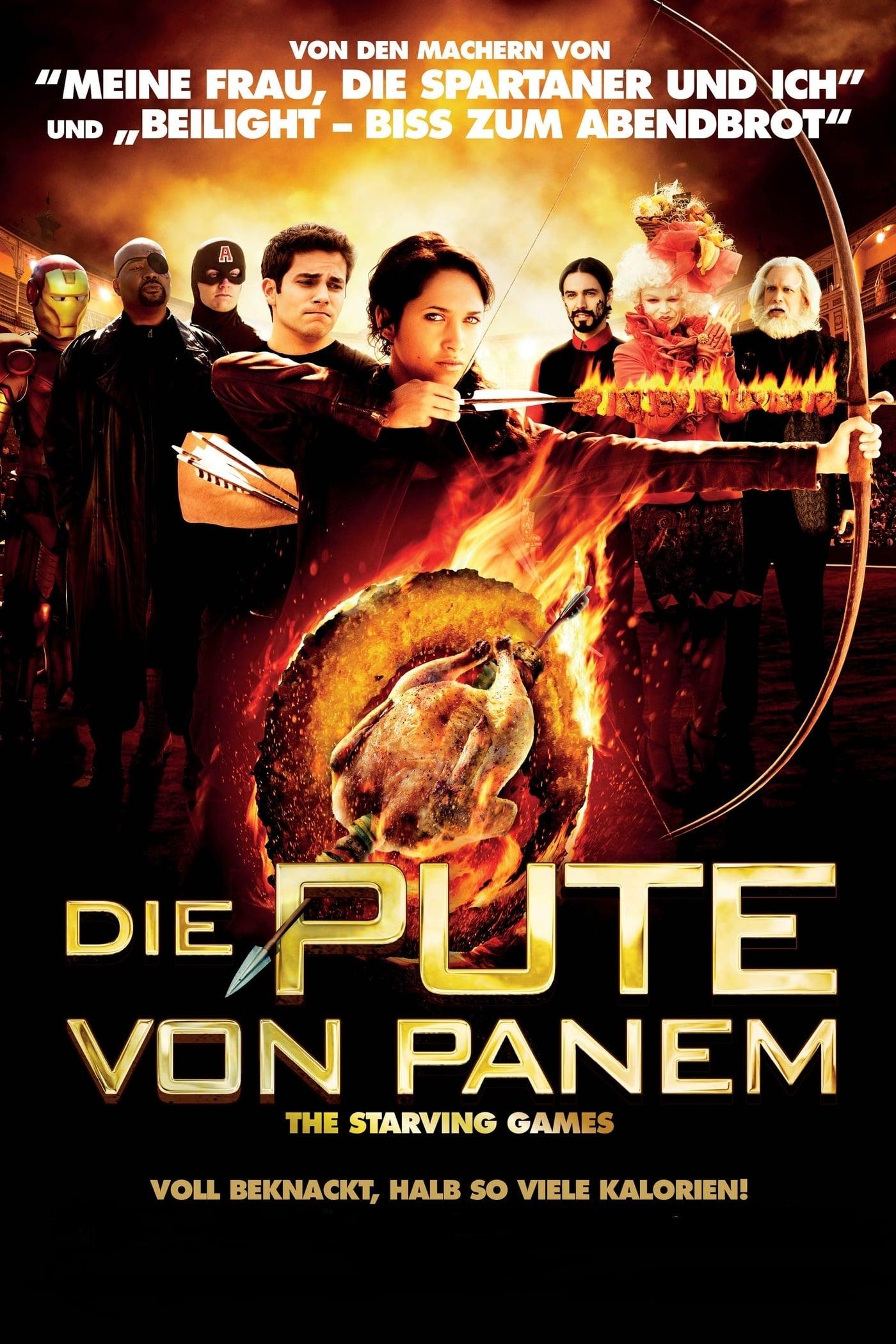 """Plakat von """"Die Pute von Panem - The Starving Games"""""""