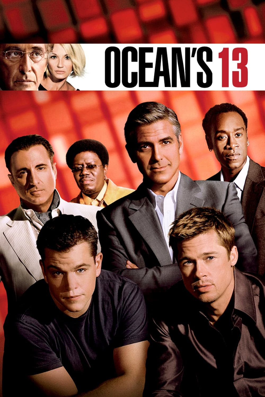 "Plakat von ""Ocean's 13"""