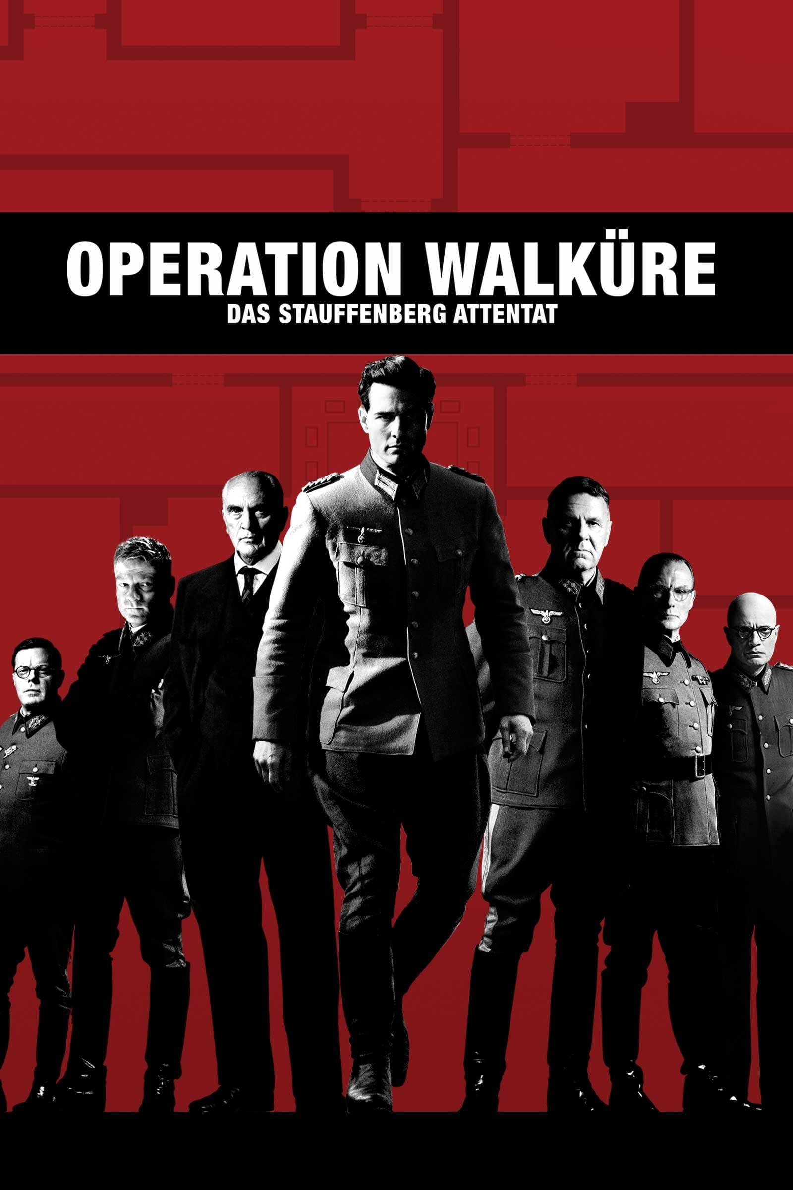 """Plakat von """"Operation Walküre - Das Stauffenberg Attentat"""""""