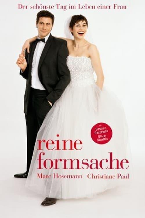 """Plakat von """"Reine Formsache"""""""