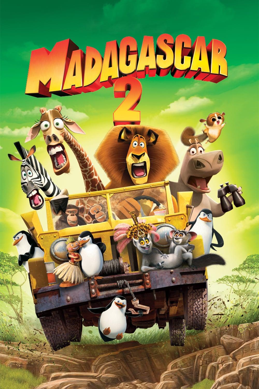 """Plakat von """"Madagascar 2"""""""