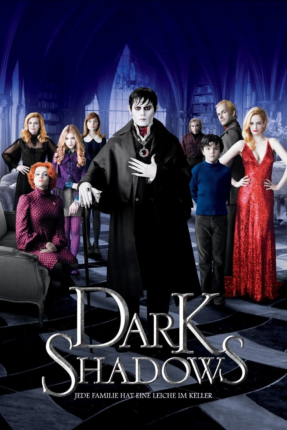 "Plakat von ""Dark Shadows"""