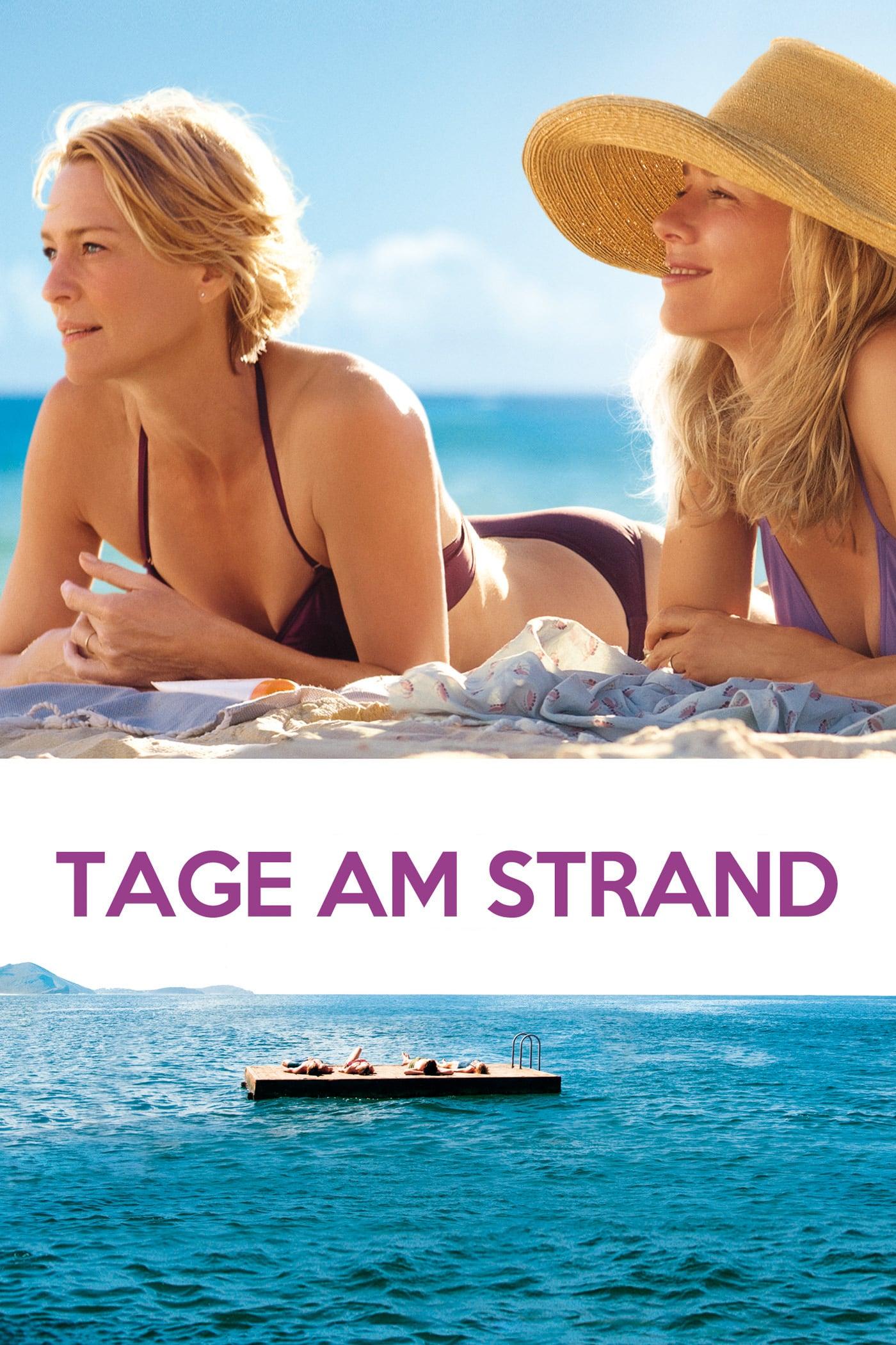 """Plakat von """"Tage am Strand"""""""