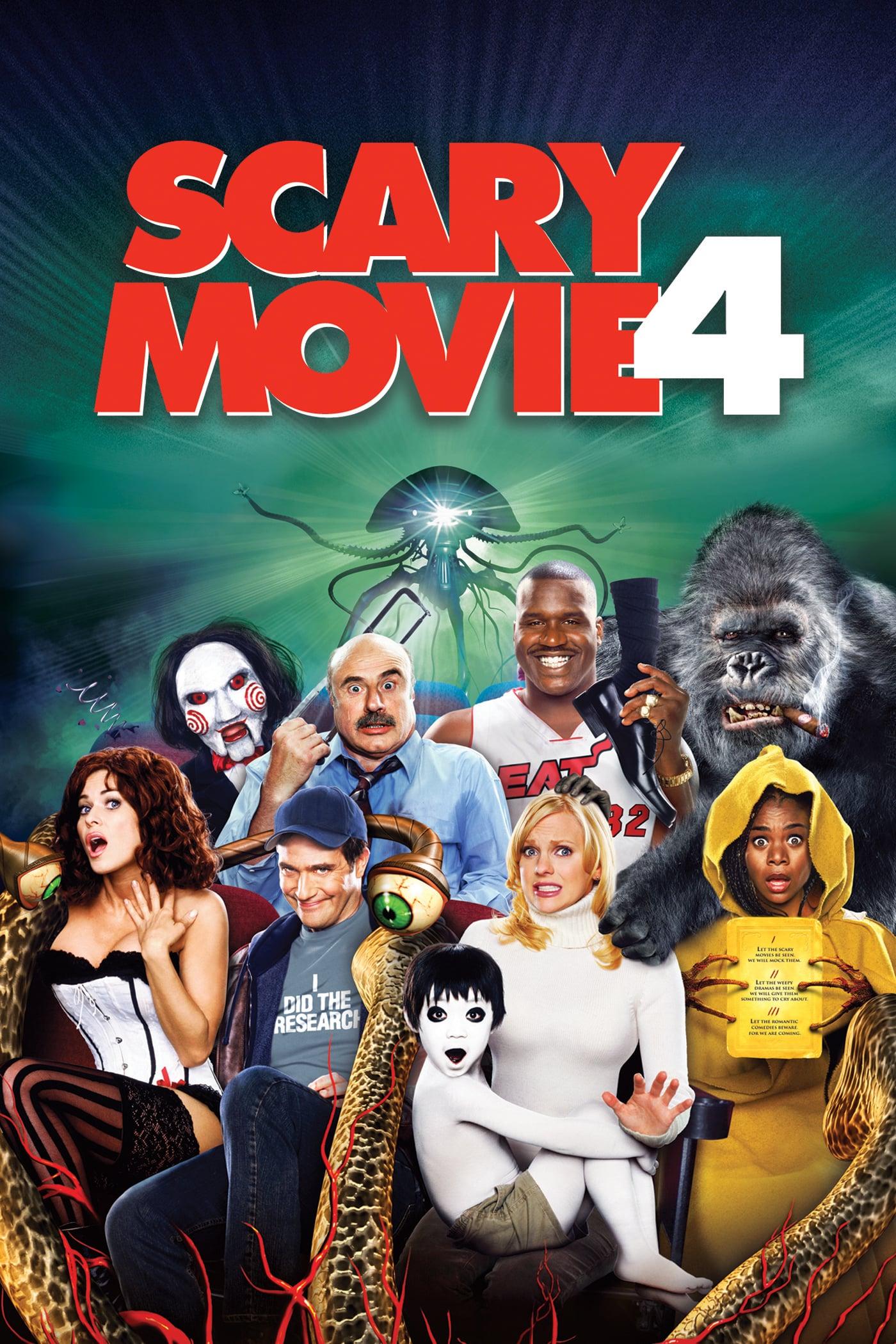 """Plakat von """"Scary Movie 4"""""""