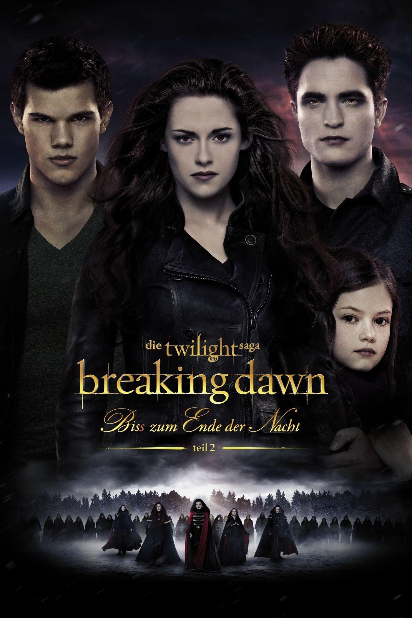 """Plakat von """"Breaking Dawn - Bis(s) zum Ende der Nacht - Teil 2"""""""
