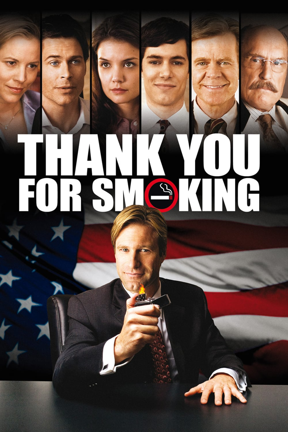 "Plakat von ""Thank You for Smoking"""