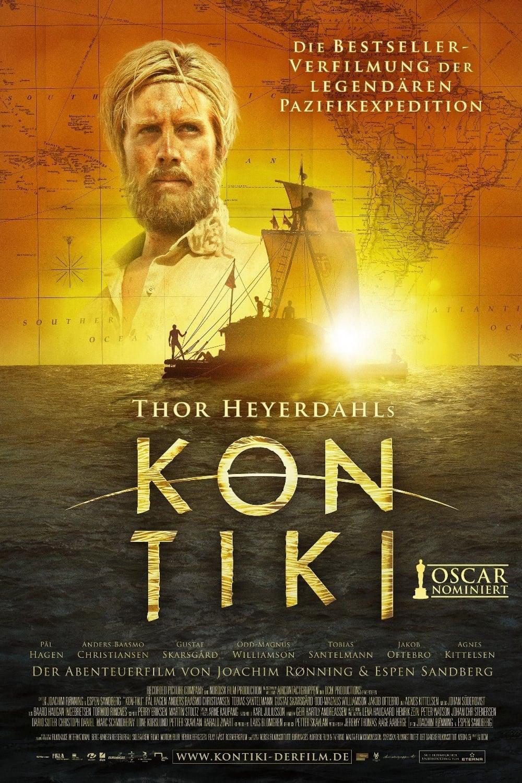 """Plakat von """"Kon-Tiki"""""""