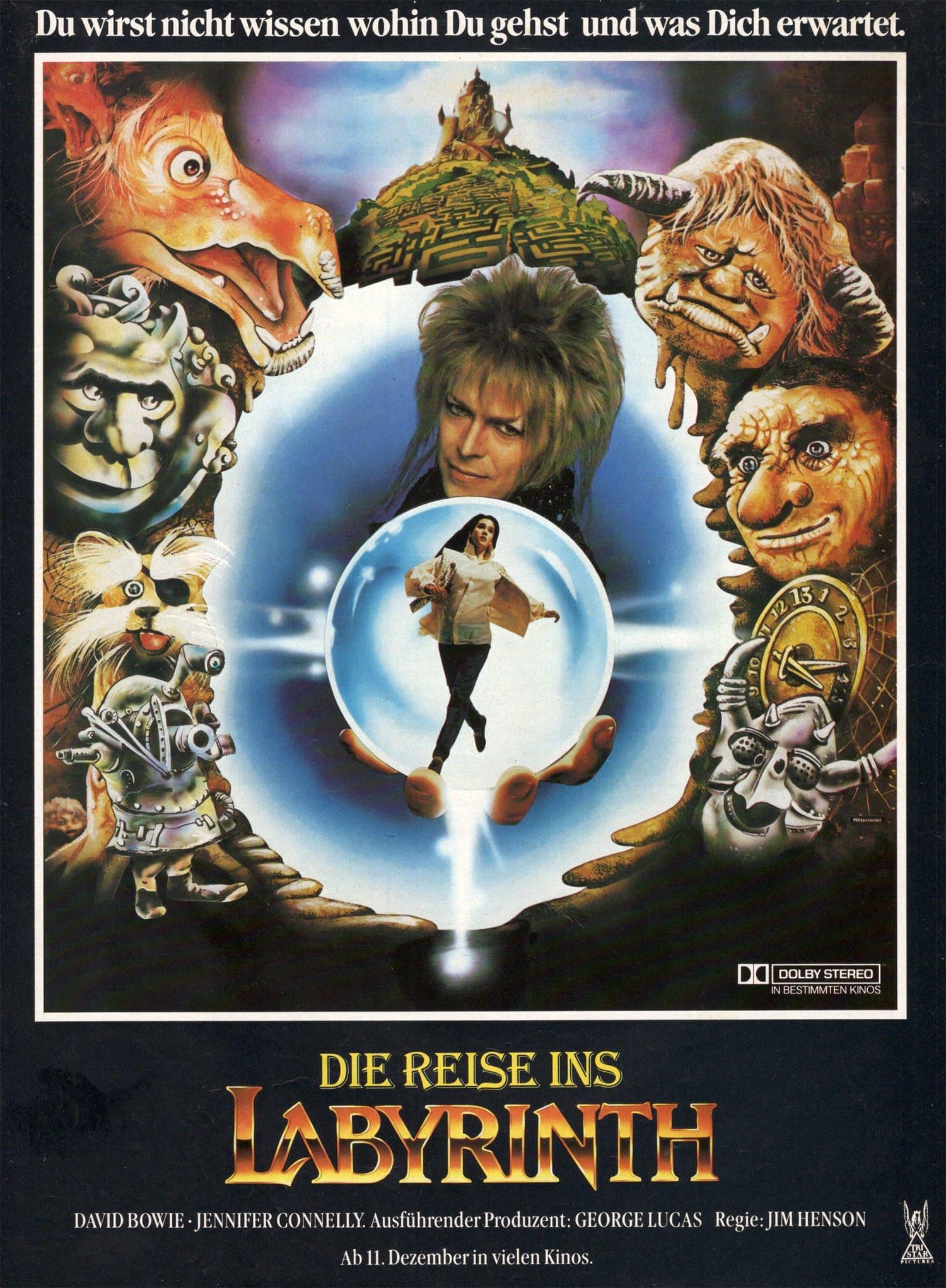 """Plakat von """"Die Reise ins Labyrinth"""""""