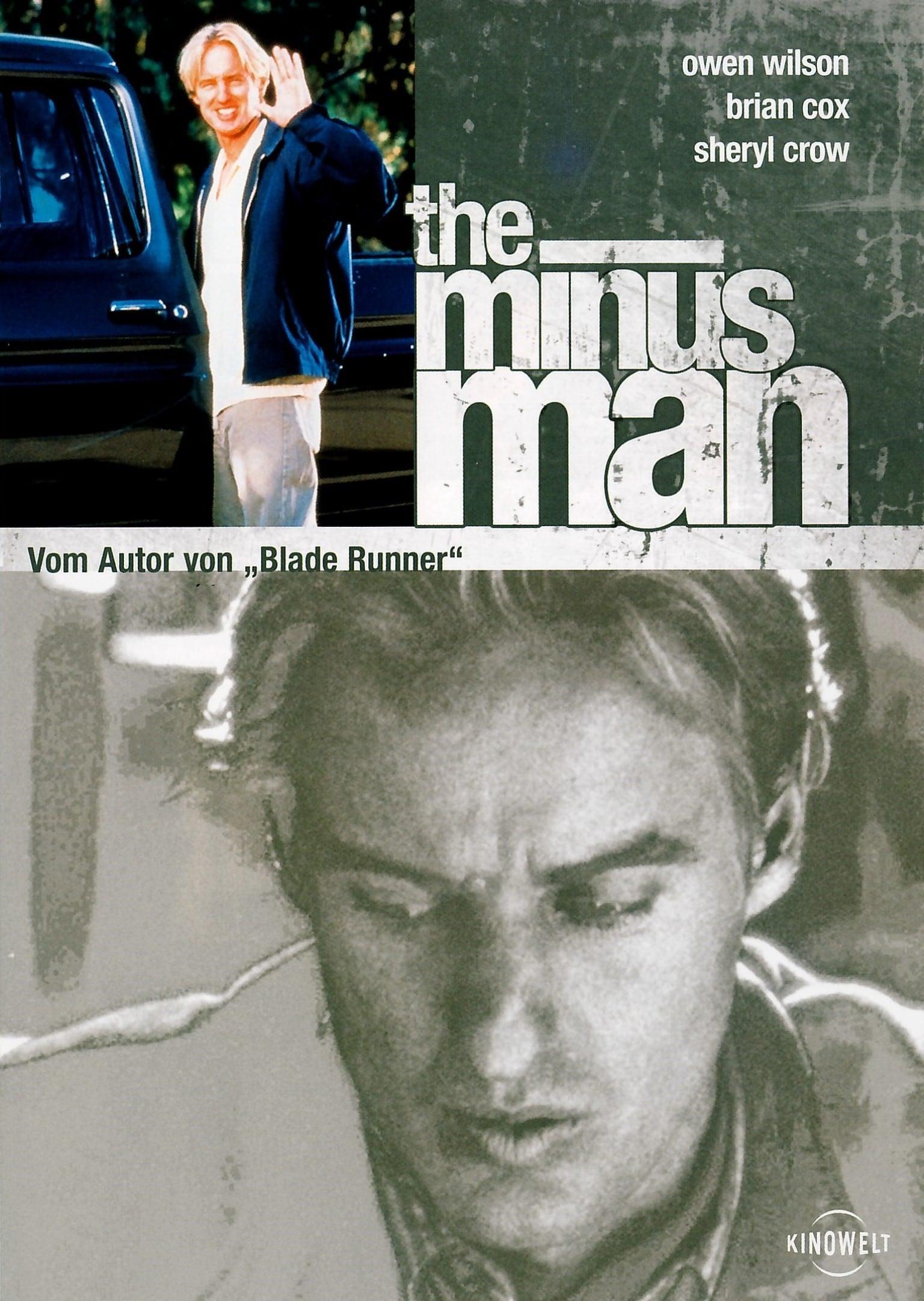 """Plakat von """"The Minus Man"""""""