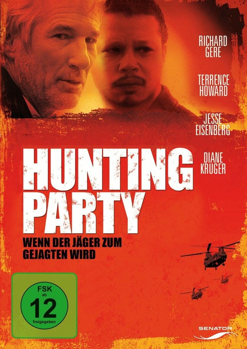 """Plakat von """"Hunting Party - Wenn der Jäger zum Gejagten wird"""""""