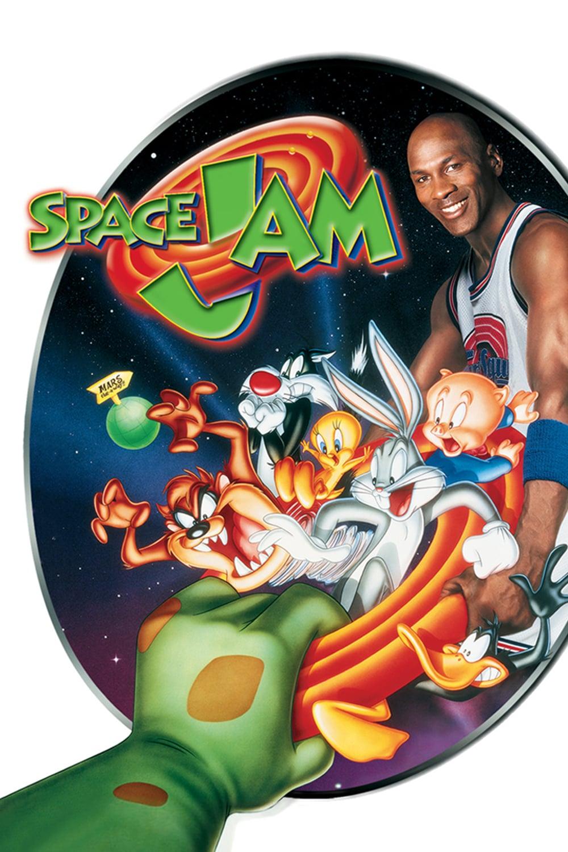 "Plakat von ""Space Jam"""