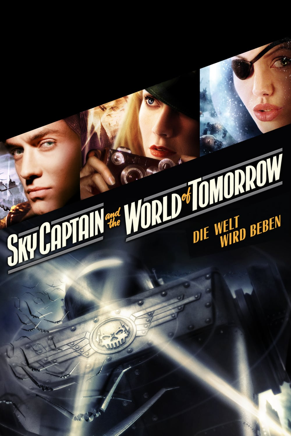 """Plakat von """"Sky Captain and the World of Tomorrow"""""""