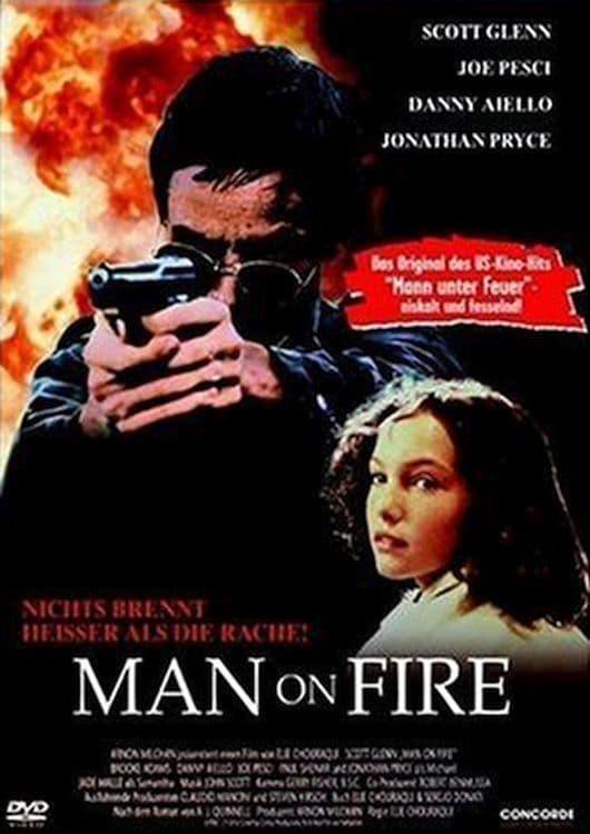 """Plakat von """"Man on Fire"""""""