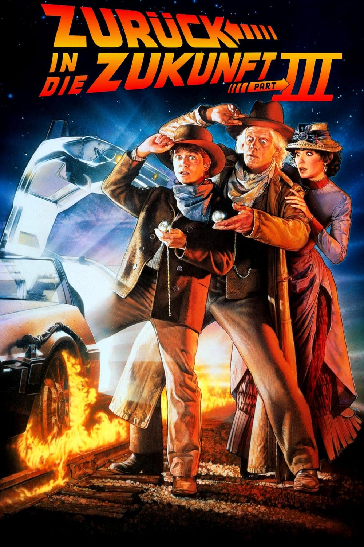 """Plakat von """"Zurück in die Zukunft III"""""""