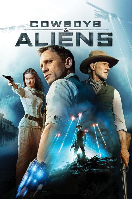 """Plakat von """"Cowboys & Aliens"""""""