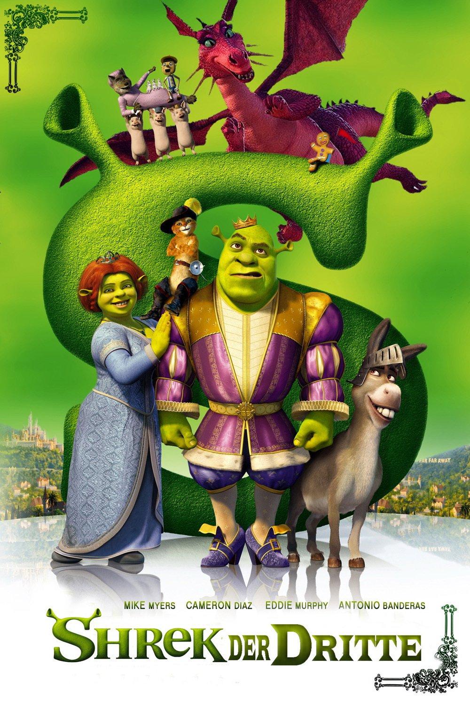 """Plakat von """"Shrek der Dritte"""""""