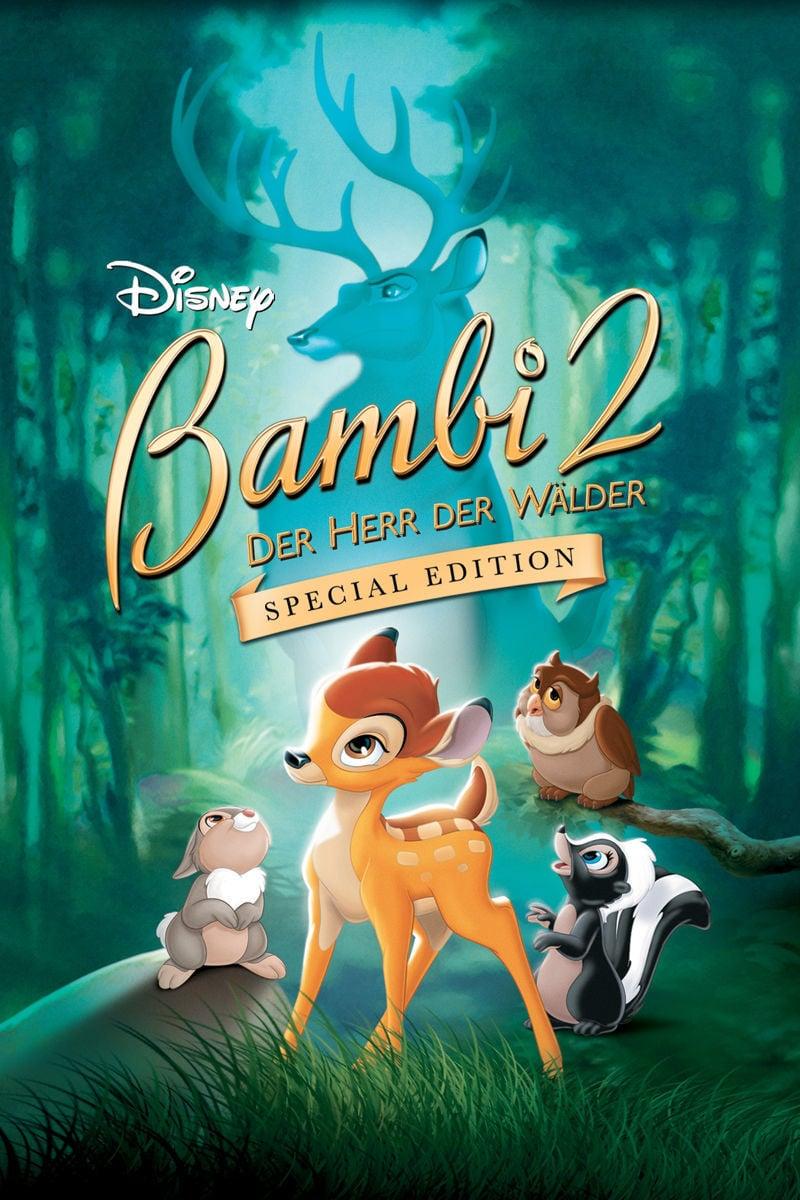 """Plakat von """"Bambi 2 - Der Herr der Wälder"""""""