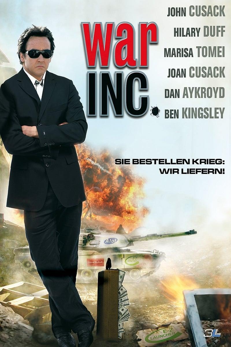 """Plakat von """"War, Inc."""""""