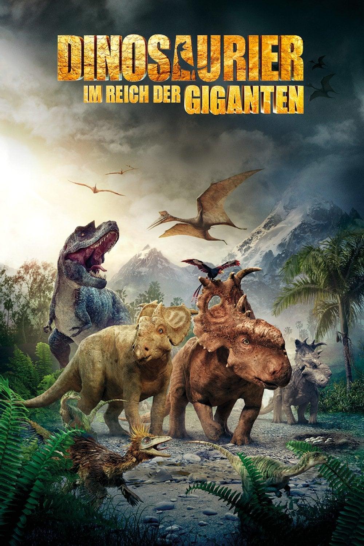 """Plakat von """"Dinosaurier 3D - Im Reich der Giganten"""""""