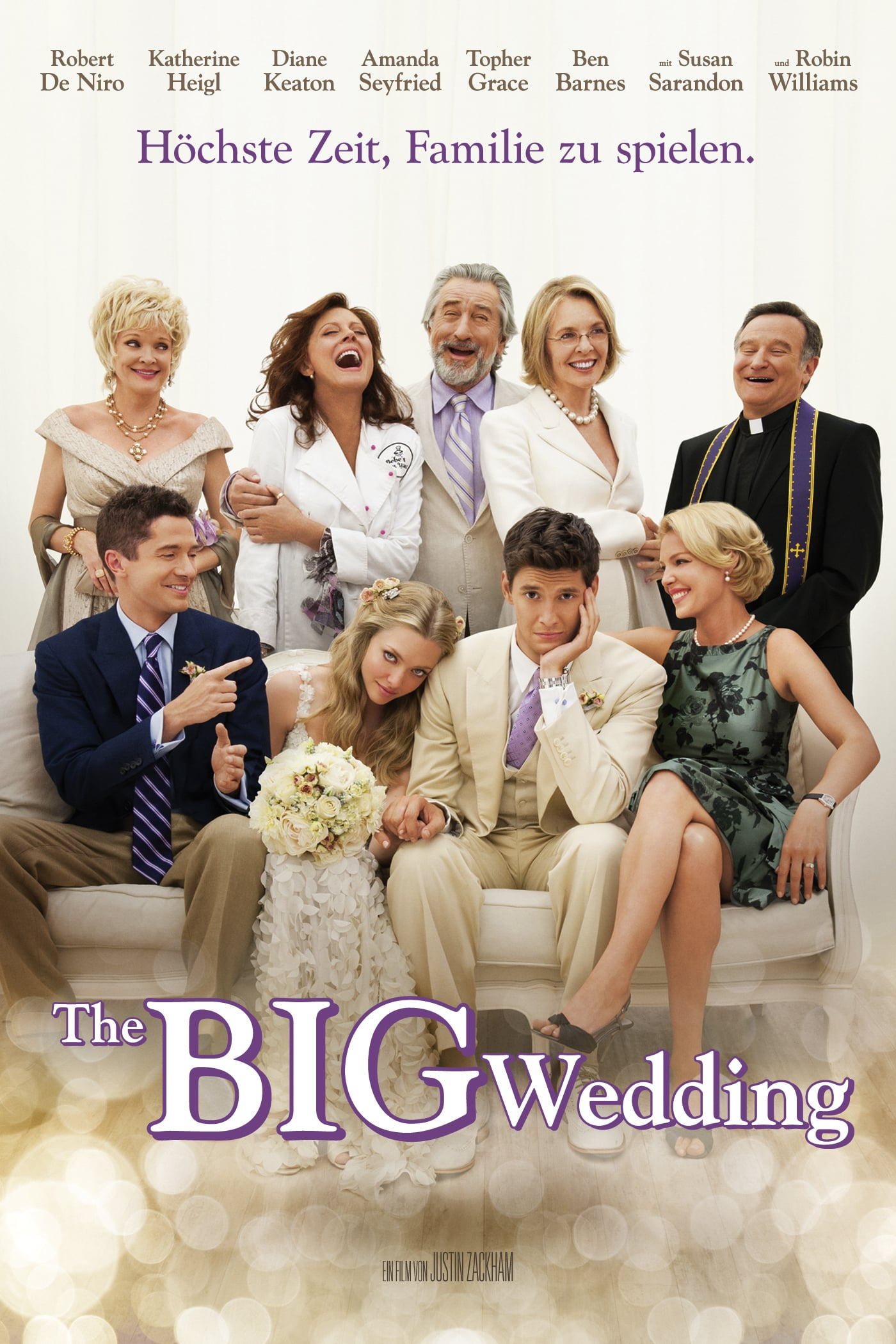"Plakat von ""The Big Wedding"""