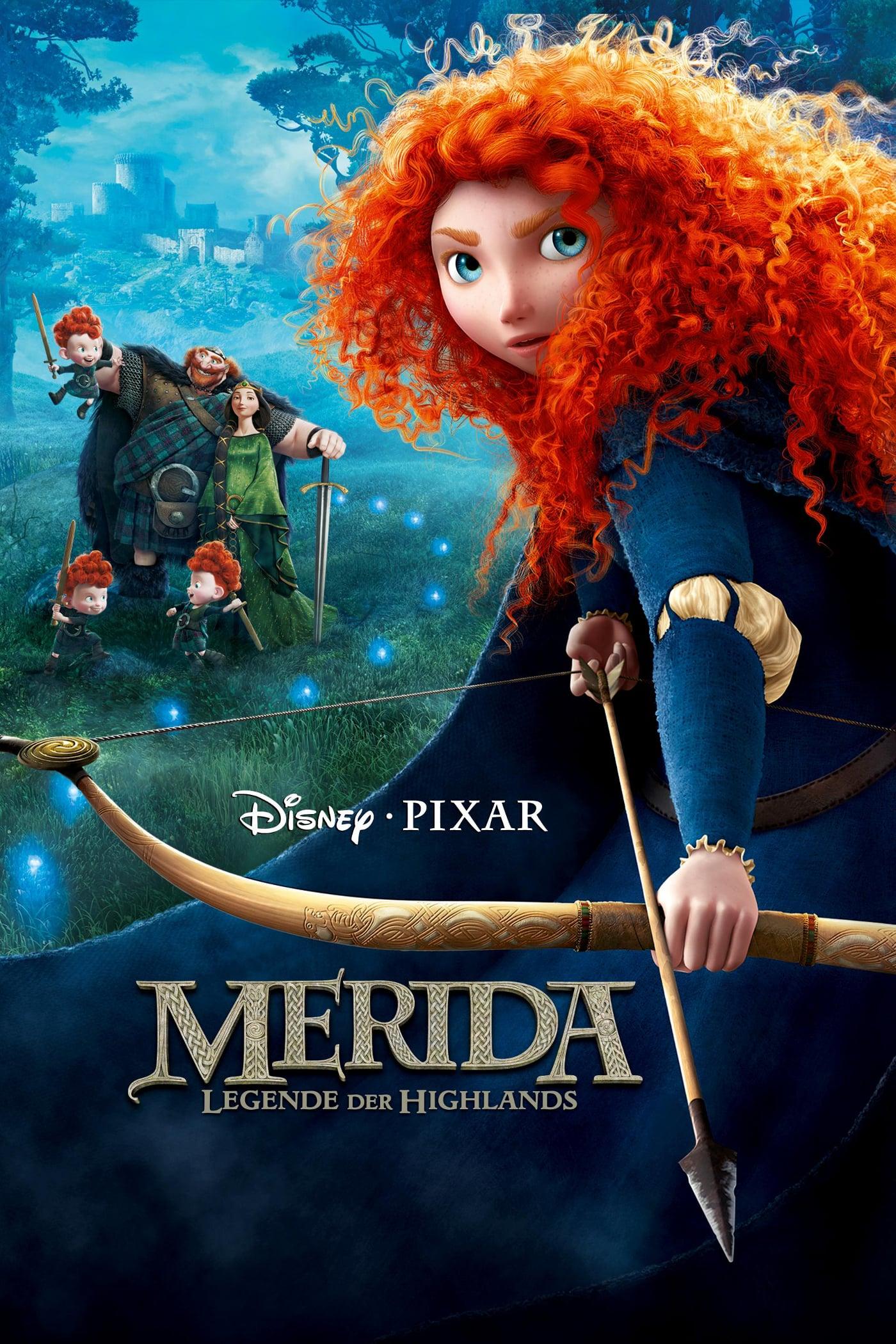 """Plakat von """"Merida - Legende der Highlands"""""""