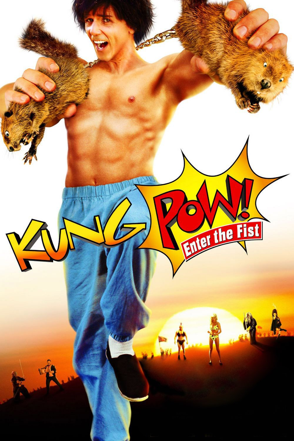 "Plakat von ""Kung Pow - Enter the Fist"""