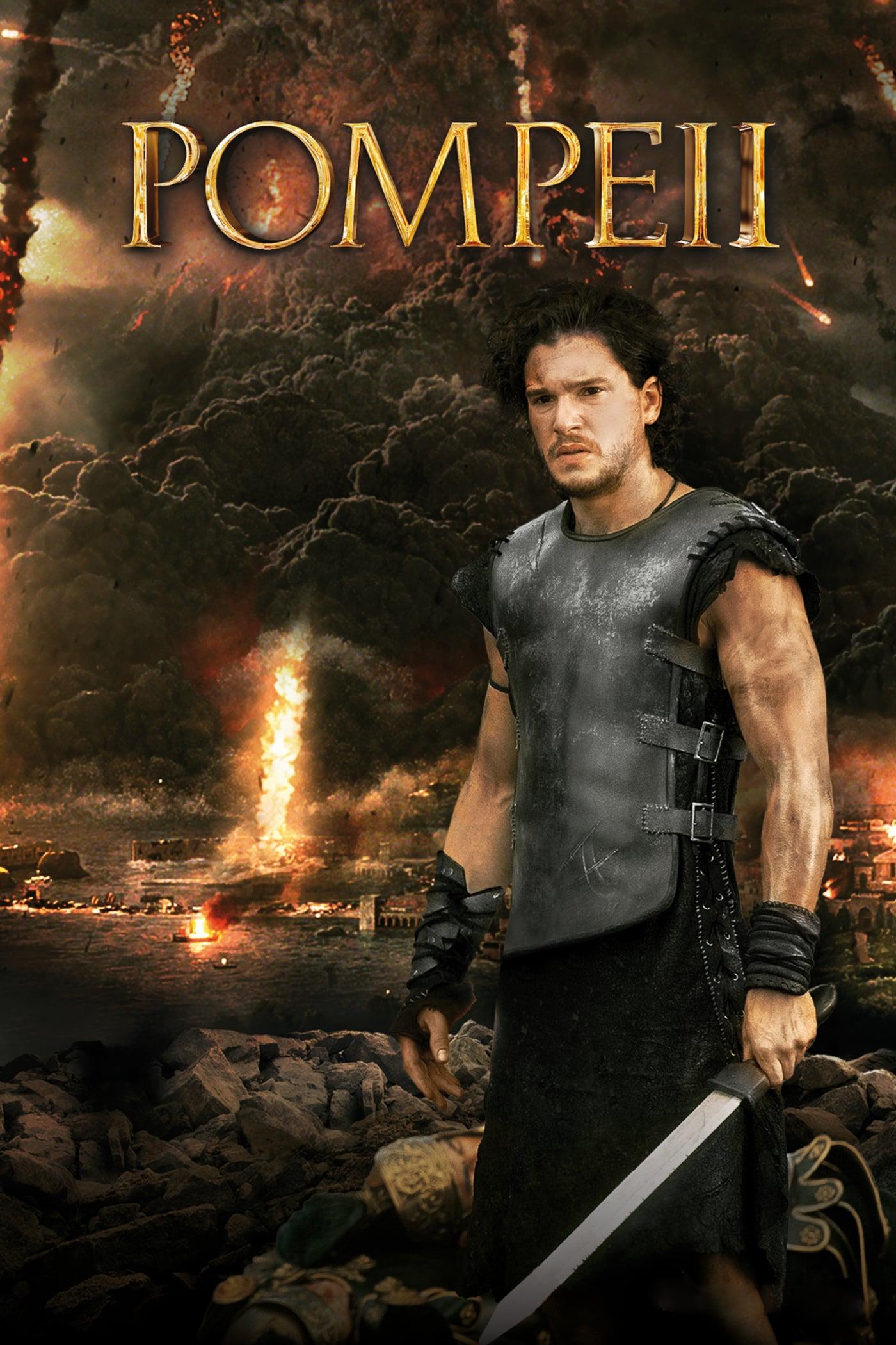 """Plakat von """"Pompeii"""""""