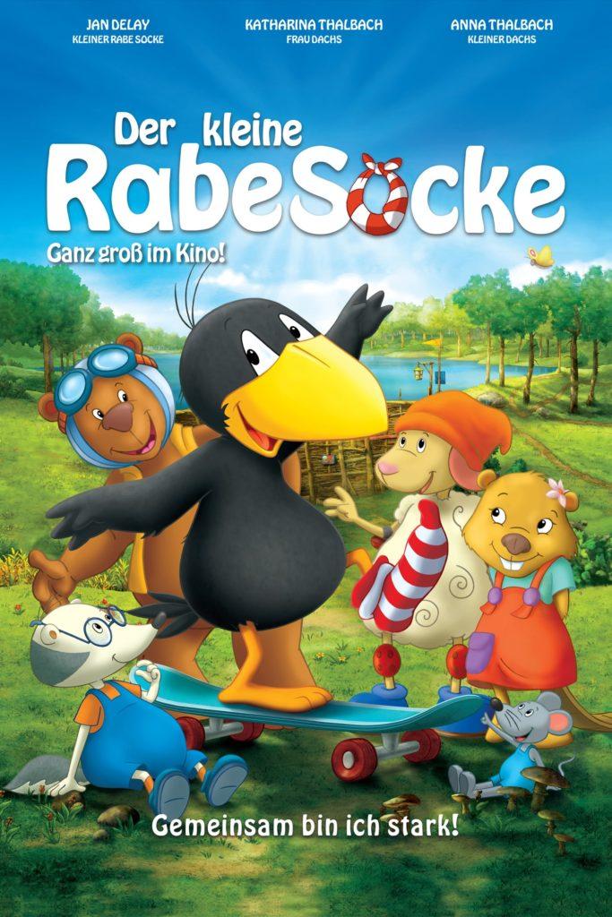 """Plakat von """"Der kleine Rabe Socke"""""""