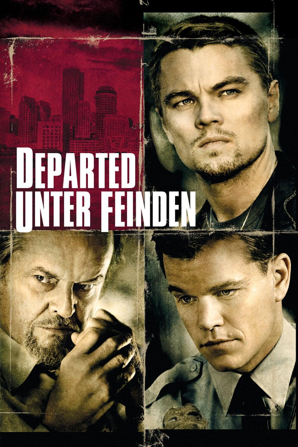 """Plakat von """"Departed - Unter Feinden"""""""