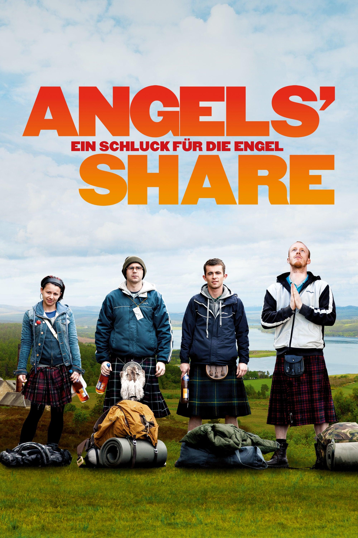 """Plakat von """"Angels' Share - Ein Schluck für die Engel"""""""