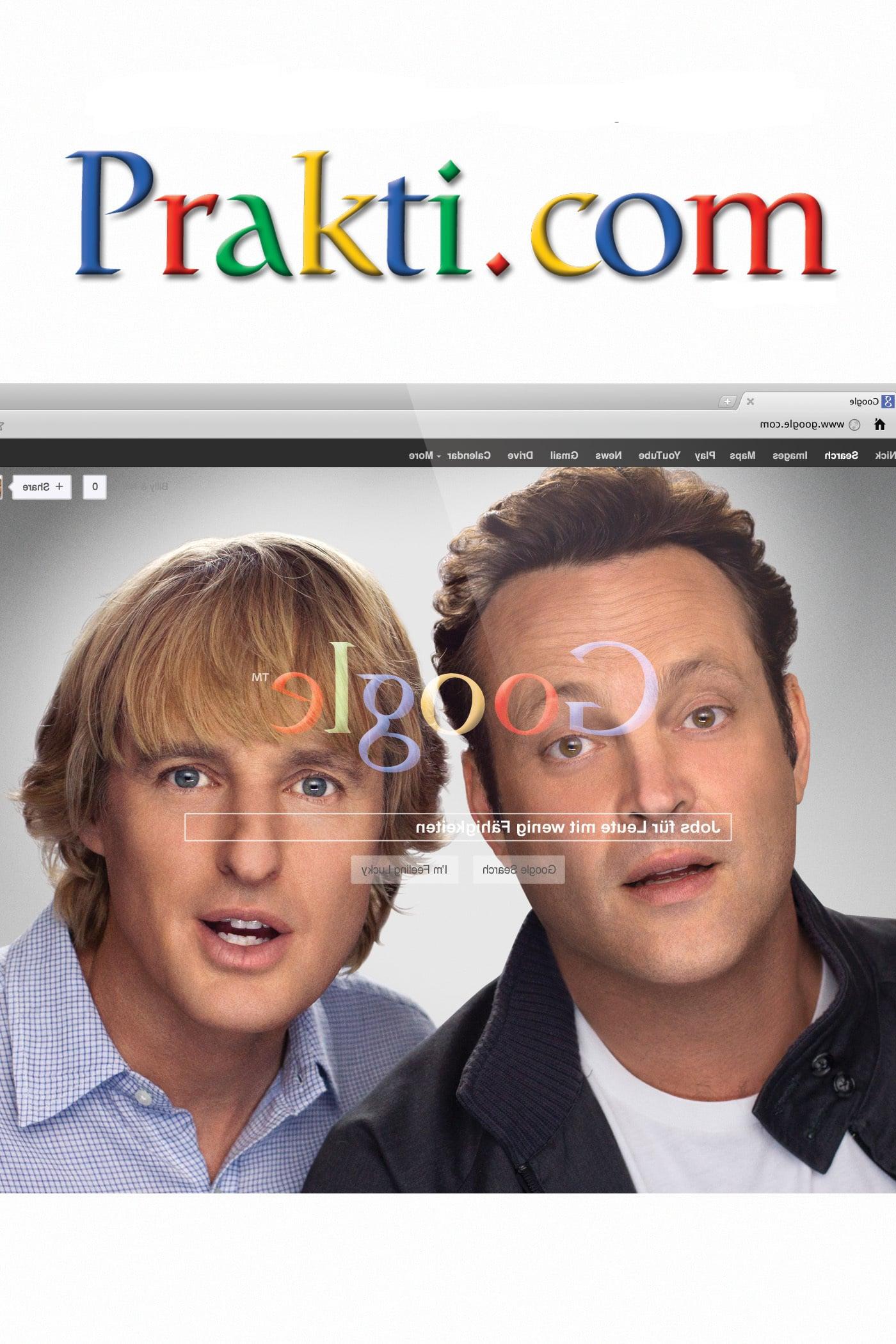 """Plakat von """"Prakti.com"""""""