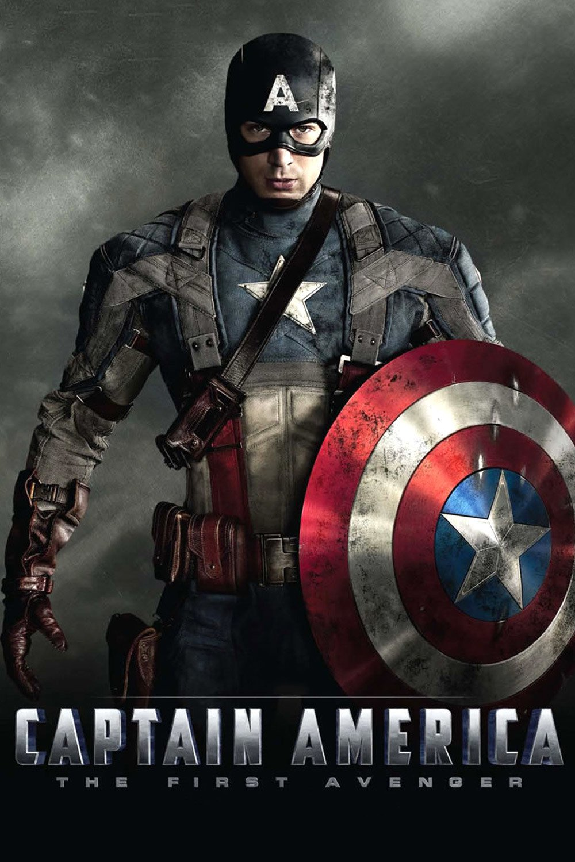 """Plakat von """"Captain America: The First Avenger"""""""