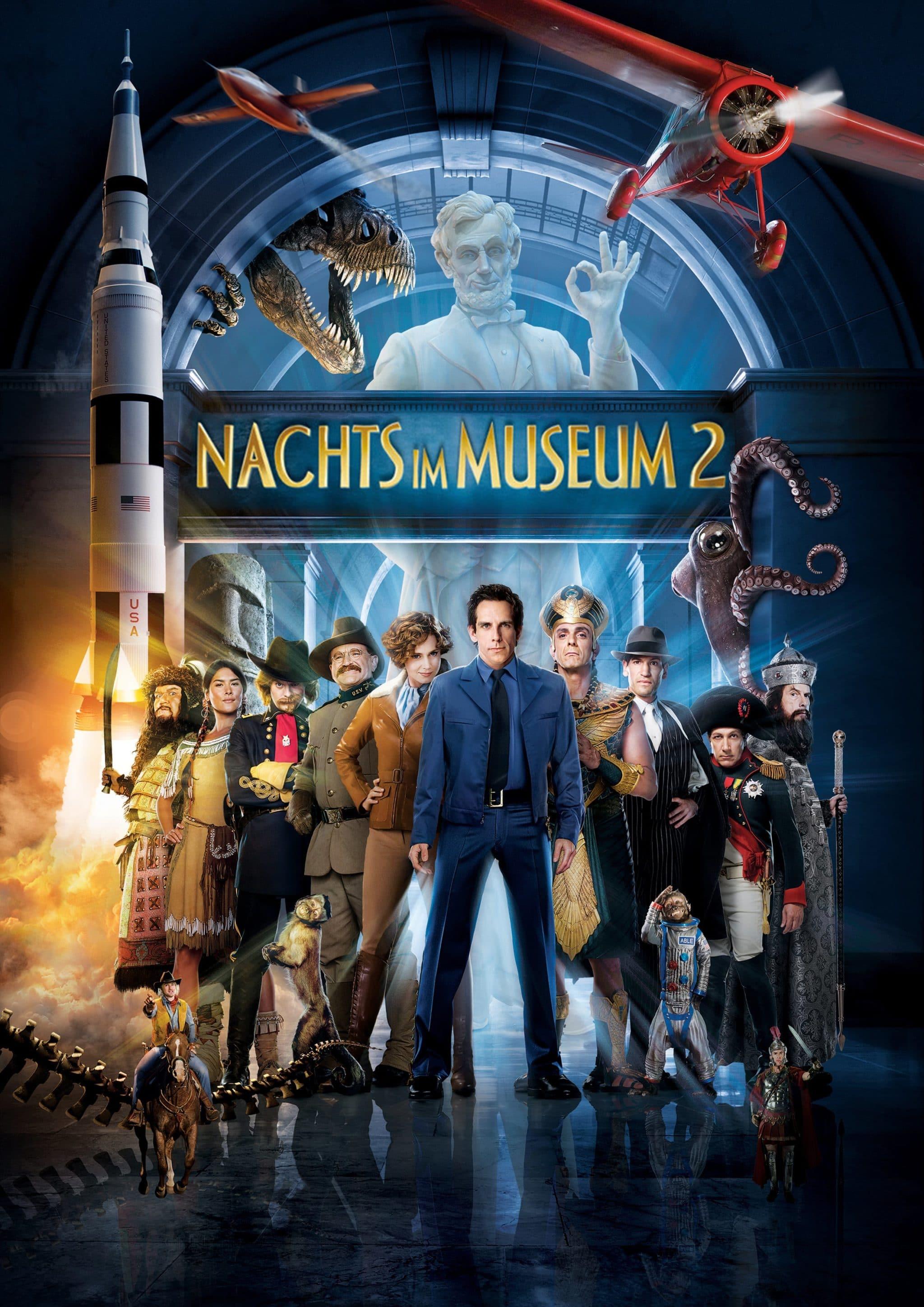 """Plakat von """"Nachts im Museum 2"""""""